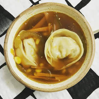 Clear Soup with Dumplings.