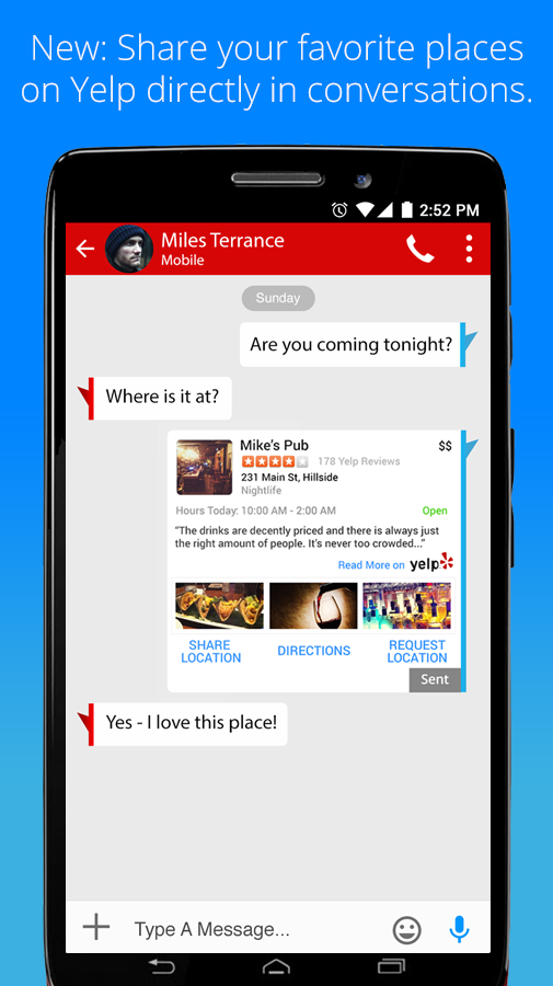 Verizon Messages Android 5