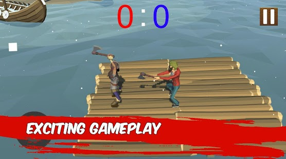 Puppet Fighter: 2 Players Ragdoll Arcade Screenshot