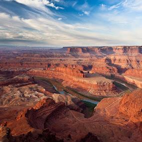 Dead Horse State Park by Dirk Sachse - Landscapes Deserts ( south west, overlook, desert, dead horse, landscape, usa )