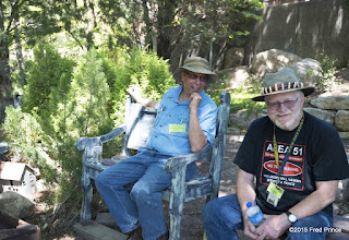 Photo: Fred, the 'other' Fred, and Mike (right) taking a much deserved break.
