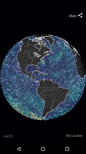 Wind Map ud83cudf2a Hurricane Tracker (3D Globe & Alerts) 2.2.9 Screenshots 10