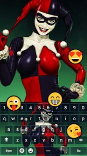 Harley Quinn Emoji Keyboard - náhled