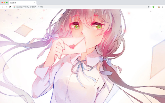 Luo Tianyi Hot HD Anime New Tabs Theme