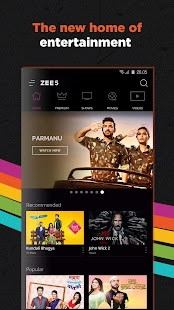 Download Zee5 Premium Apk + Mod - Movies, TV Shows, LIVE TV & Originals