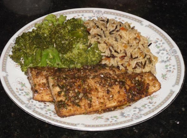 Ginger Glazed Baked Mahi Mahi Recipe