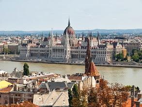 Photo: widok na Parlament