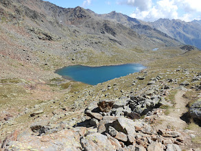 Photo: Lago Marmotte , salendo a cima Nera