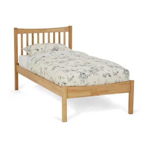 Serene Alice Bed Frame Honey Oak Double