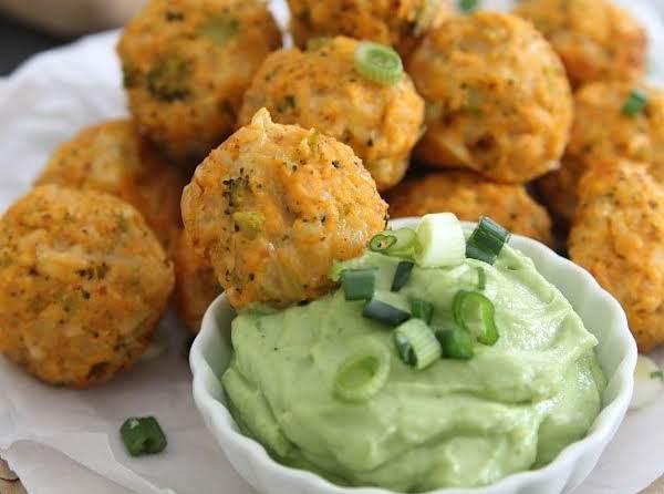 Buffalo Chicken Broccoli Cheddar Bites Recipe