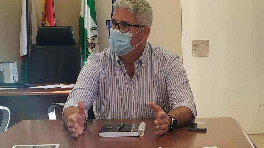 Ismael Torres, alcalde de Huércal de Almería