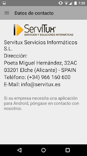 ServiTux App- screenshot thumbnail