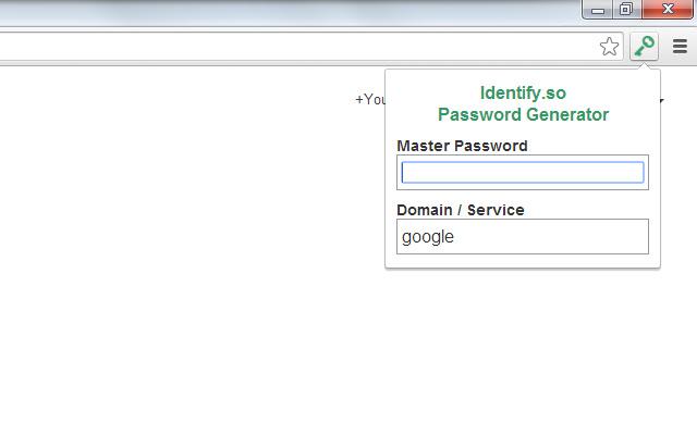 Identify.so Password Generator
