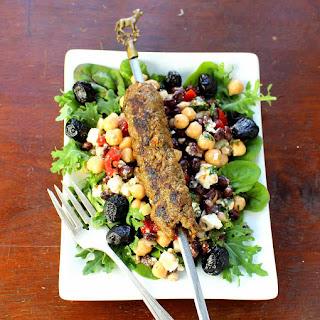 Mediterranean Chickpea Salad (Balela).