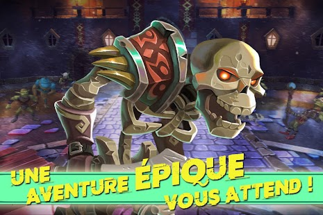 Dungeon Legends - RPG MMO Game Capture d'écran