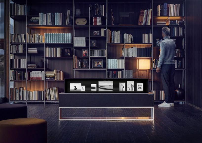 LG presenta el primer televisor OLED enrollable del mundo en el CES 2019