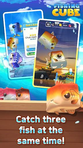 Fishing Cube  captures d'écran 2
