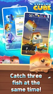 Fishing Cube MOD Unlimited Currency 2
