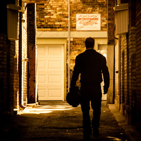 Departing Hero by Mauricio Alas - People Portraits of Men