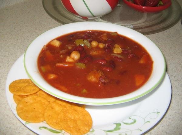 Fruity Meatball Chili Recipe