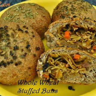 Whole Wheat Stuffed Buns