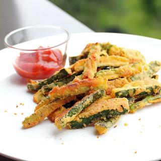 Crunchy Zucchini Fries.