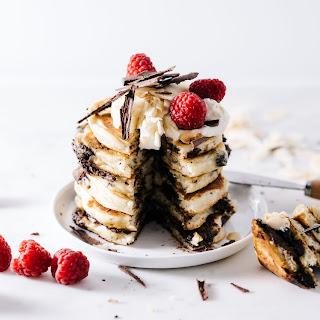 Superfood Chocolate Coconut Pancakes