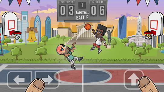 Basketball Battle Mod Apk 2.2.3 (Unlimited Gold + Infinite Cash) 1
