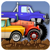 Hill Racing: Stunt Car Racing