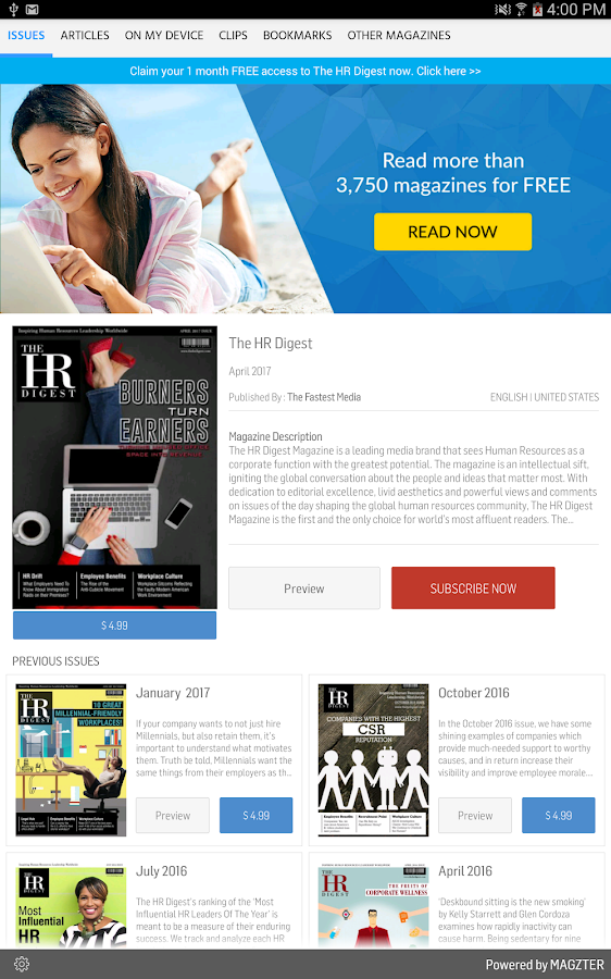 The HR Digest- screenshot