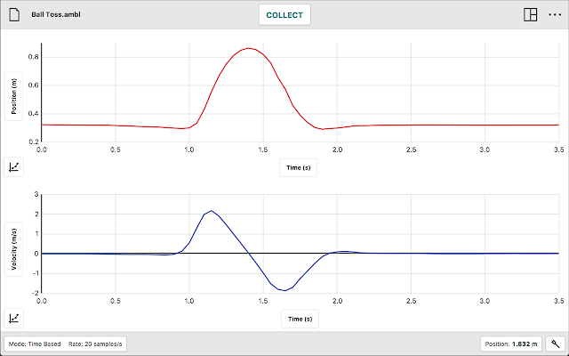 Vernier graphical analysis chrome web store graphical analysis 4 is a tool for science students to collect graph and analyze data from vernier sensors ccuart Image collections