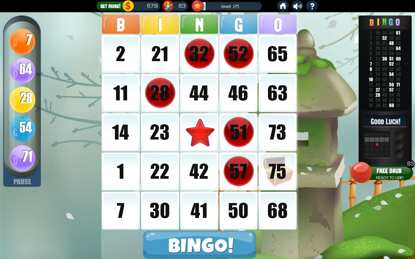 Bingo Crusoe - Play for Free Online with No Downloads