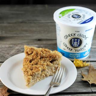 Greek Yogurt Pear Pie.