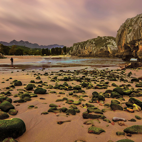 Las Cuevas del Mar  by Orkidea W. - Landscapes Beaches ( mountain, nature, orkidea, sea, beach, landscape, rocks,  )