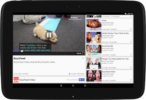 Just Video Feeds for Facebook to explore Videos 4.180926 screenshots 8