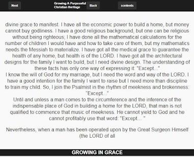 divine grace in a good man