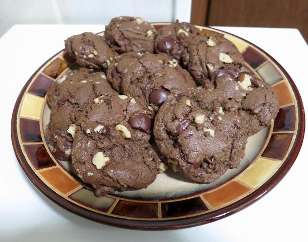 Mocha Walnut Cookies Recipe