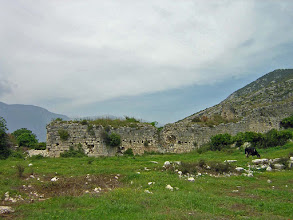 Photo: Limyra, Byzantine City Wall .......... Limyra, Byzantijnse stadswallen.