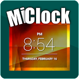MiClock - Simple Clock Widget App-Download APK (com sunspock