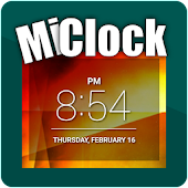 MiClock - Simple Clock Widget