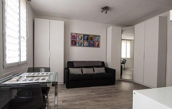 Location studio meublé 24 m2