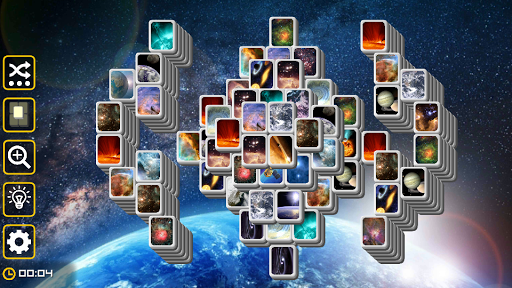 Mahjong Galaxy Space: astronomy mahjongg solitaire screenshots 2