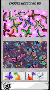 Sladké motýlové klávesnice - náhled