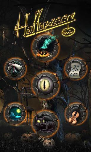 玩免費個人化APP|下載Halloween Dark Go Launcher app不用錢|硬是要APP