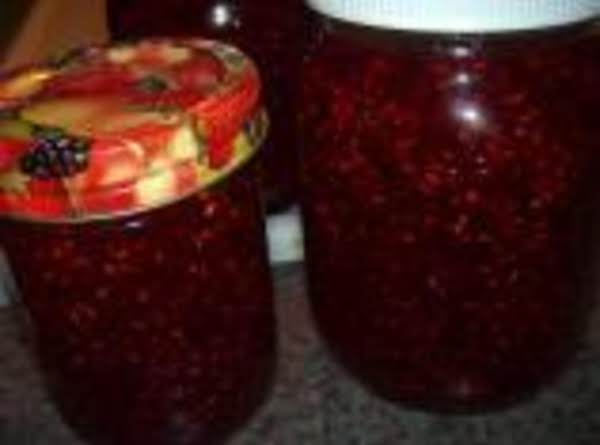 Raspberry Jam Canned