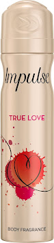 Impulse Body Fragrance Deodorant - True Love, 75ml