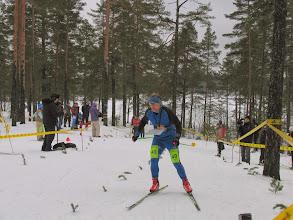 Photo: Олег Мельников на финише