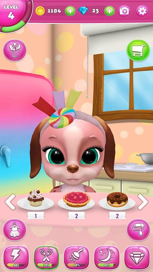 Masha The Dog – My Virtual Pet- screenshot