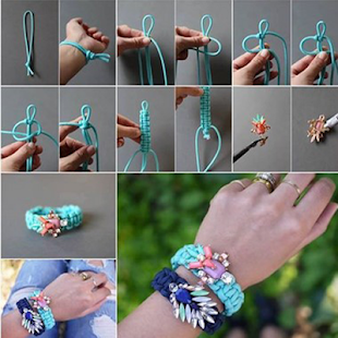 Bracelet Making Step by Step - náhled
