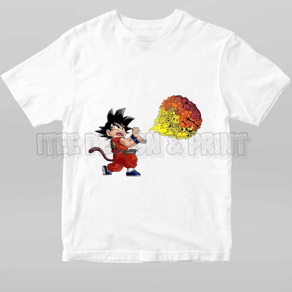 Goku Fireball Kamehameha Doodle 17